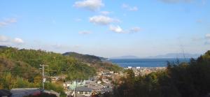 ▲小松さんのご自宅から見える風景