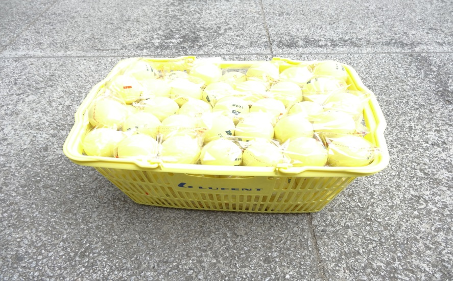 さぬき市立さぬき南中学校にソフトテニスボール購入